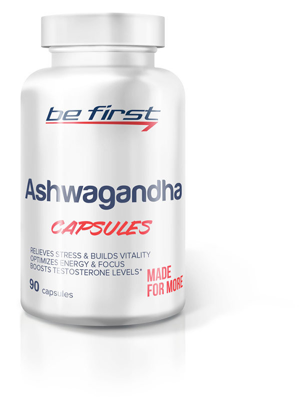 Купить Be First Ashwagandha Capsules 90 мл, Россия