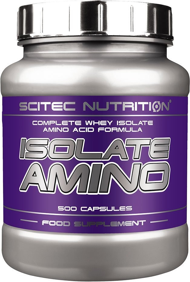 Scitec Nutrition Isolate Amino 500 капсул