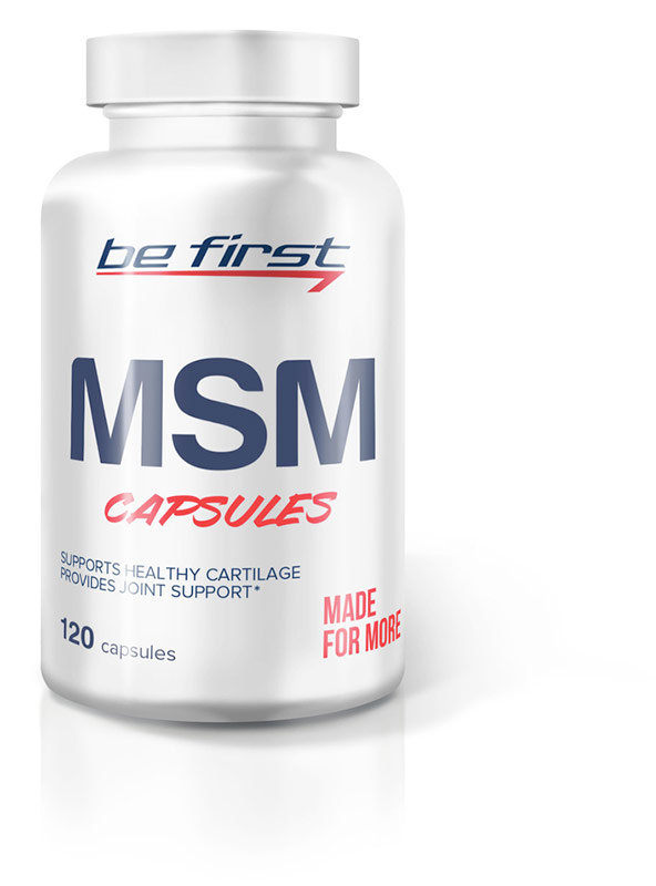 Be First Msm Capsules 120 капсул