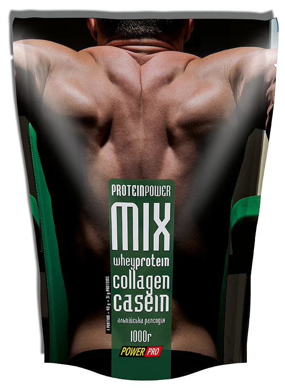 Купить PowerPro Protein Power Mix 1000 г, Польша