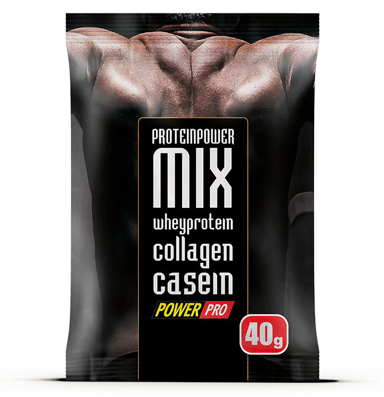 Купить PowerPro Protein Power Mix 40 г, Польша