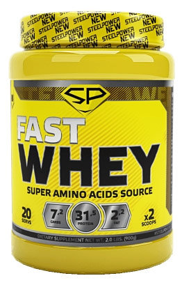 Купить Steel Power Nutrition Fast Whey Protein 900 г, Россия