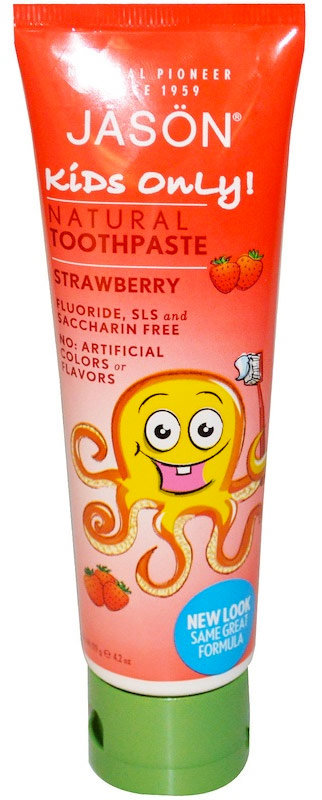 Jason Natural Kids Only Strawberry Toothpaste 119 г