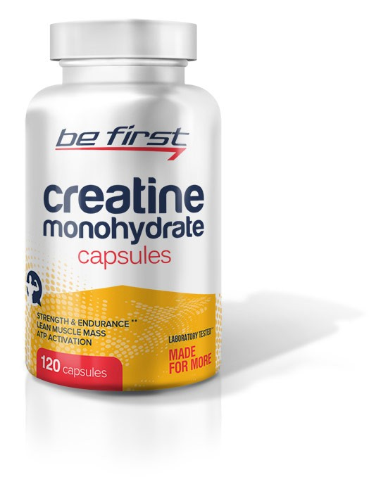 Be First Creatine Monohydrate 120 капсул