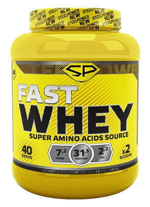 Купить Steel Power Nutrition Fast Whey Protein 1, 8 кг, Россия