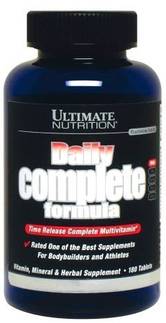 Ultimate Nutrition Daily Complete Formula 180 таблеток