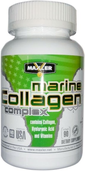 Maxler (Usa) Marine Collagen Complex 90 капсул
