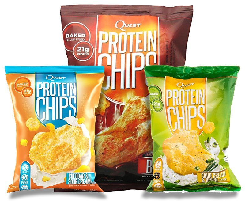 Купить Quest Nutrition Quest Protein Chips 34 г, США