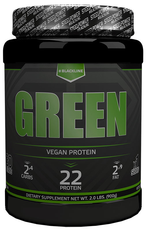Купить Steel Power Nutrition Green Vegan Protein 900 г, Россия