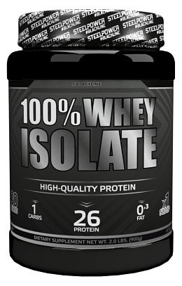 Steel Power Nutrition 100% Whey Isolate 900 г