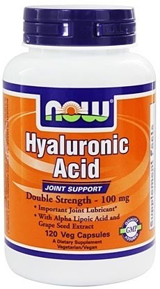 Now Hyaluronic Acid 100 мг 120 капсул