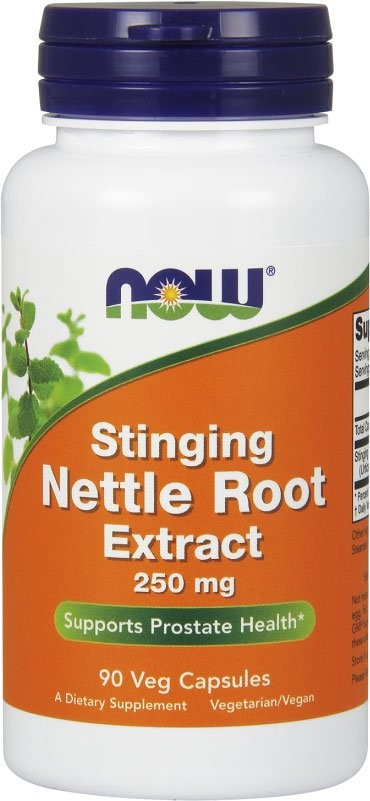 Now Nettle Root Extract 250 мг 90 капсул