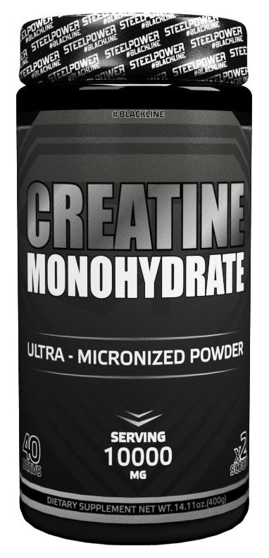 Steel Power Nutrition Creatine Monohydrate 400 г