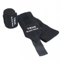True Black Wrist Wraps