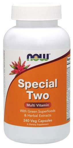 Now Special Two Multi Vitamin 240 капсул