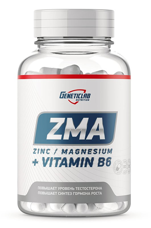 GeneticLab Nutrition Zma 60 капсул