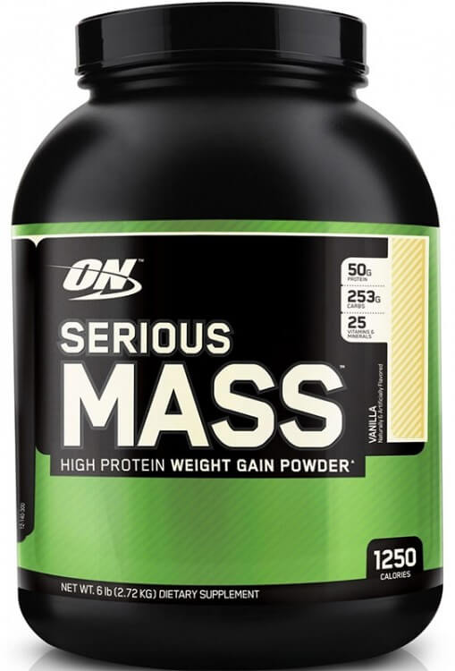 Optimum Nutrition Serious Mass 2,7 кг