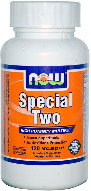 Now Special Two Multi Vitamin 120 капсул