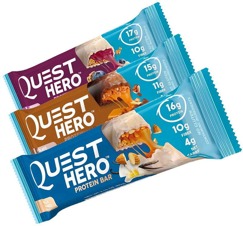 Купить Quest Nutrition Quest Hero Protein Bar 60 г, США