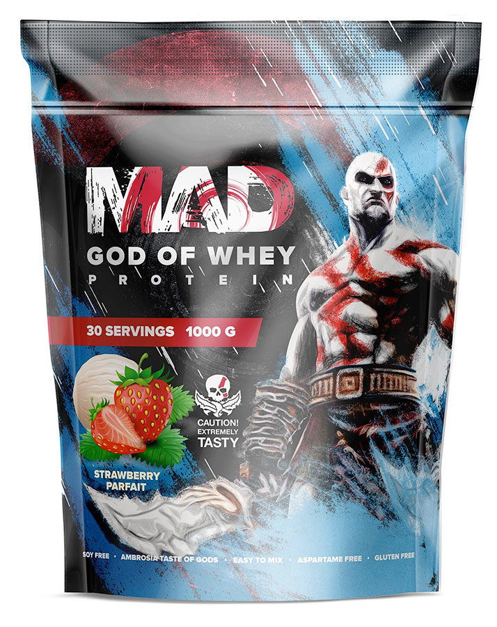 Mad God of Whey (Пакет) 1000 г