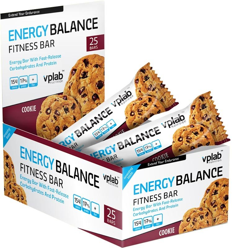 VPLab Energy Balance Fitness Bar 35 г