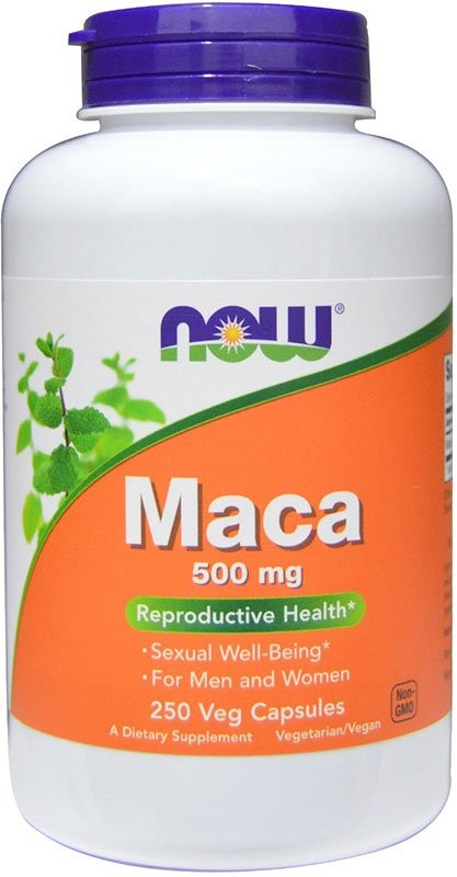 Now Maca 500 мг 250 капсул
