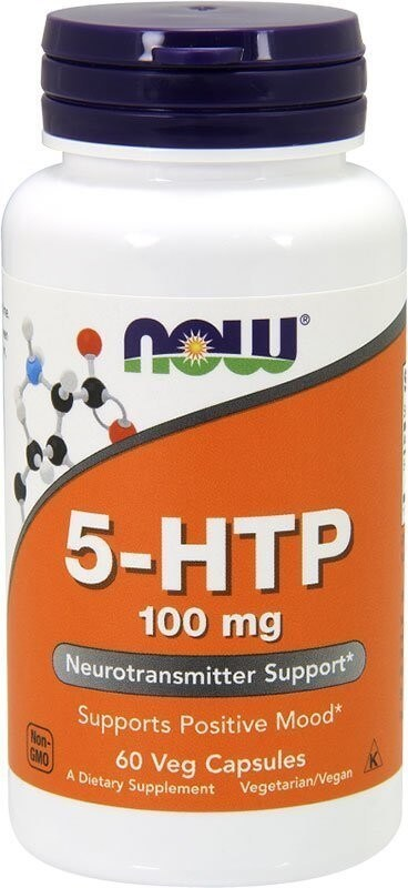 Now 5-Htp 100 мг 60 капсул