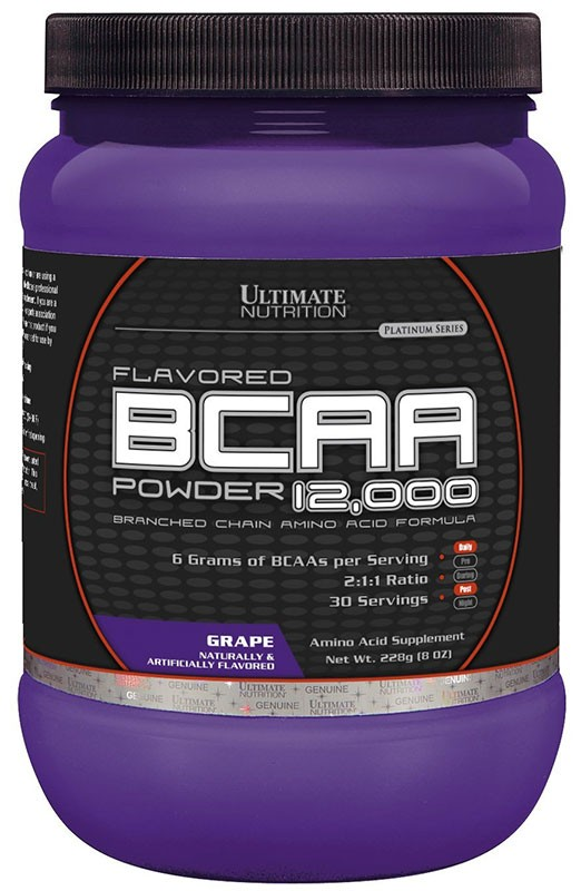 Ultimate Nutrition Bcaa 12000 Powder 228 г