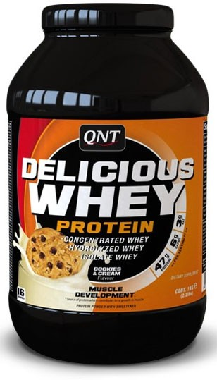 Qnt Delicious Whey Protein 2,2 кг