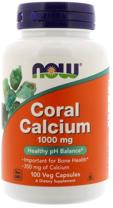 Now Coral Calcium 100 капсул