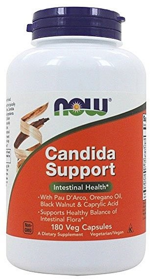 Now Candida Support 180 капсул