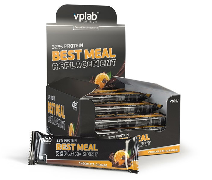 Купить VPLab 32% Protein Best Meal Replacement 60 г, Великобритания