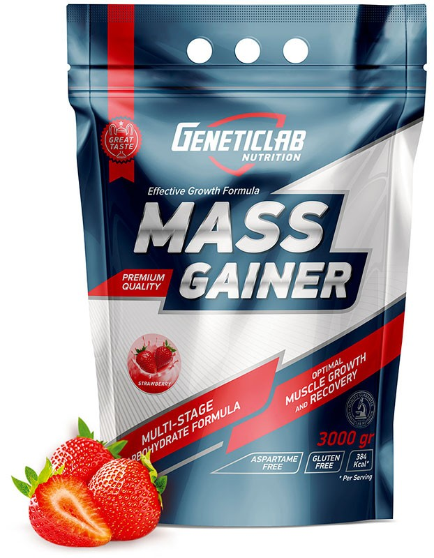 GeneticLab Nutrition Mass Gainer 3 кг