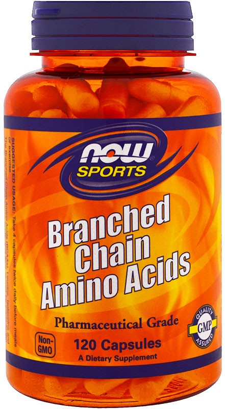 Now Branched Chain Amino Acids 120 капсул