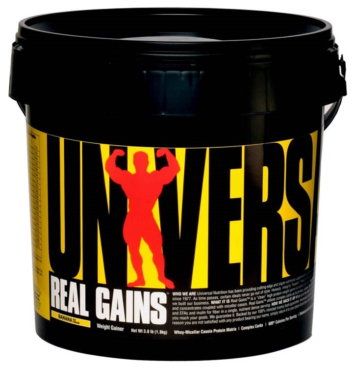 Universal Nutrition Real Gains 1,8 кг