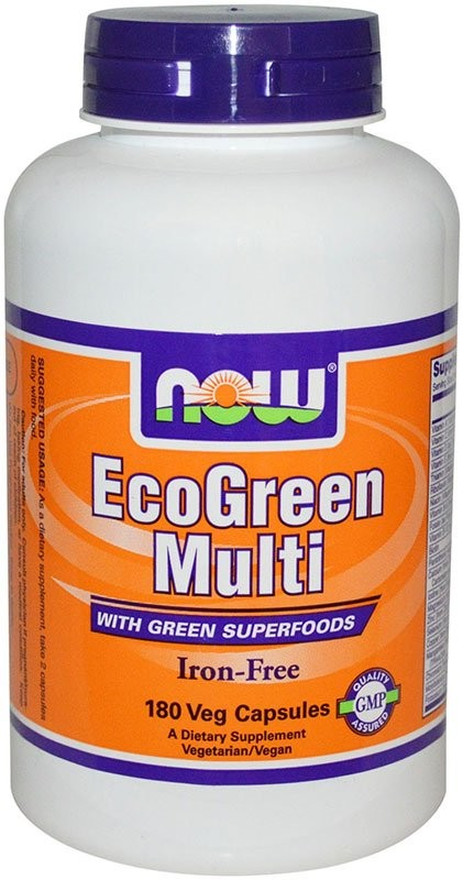 Now EcoGreen Multi 180 капсул