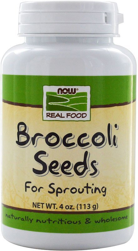 Now Broccoli Seeds For Sprouting 113 г