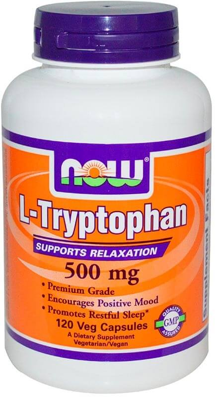 Now L-Tryptophan 500 мг 120 капсул