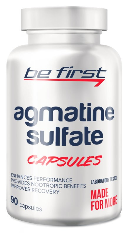 Be First Agmatine Sulfate Capsules 90 капсул