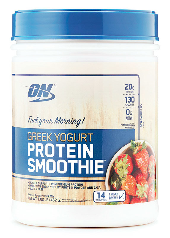 Купить Optimum Nutrition Greek Yogurt Protein Smoothie 460 г, США